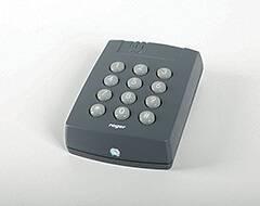 Алюмінієві зовнішні двері Plus Line wisniowski. Кодова клавіатура (внутрішня)