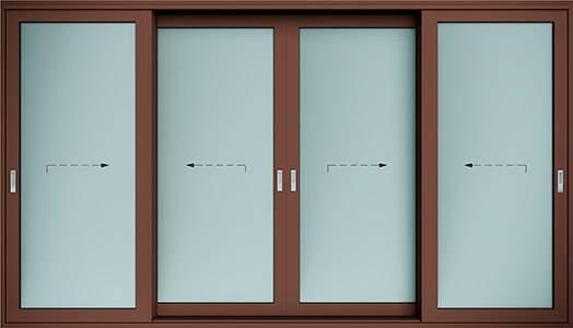 Алюмінієві терасні двері wisniowski. Схема F | RAL 8017