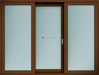 Алюмінієві терасні двері wisniowski. Схема G | RAL 8014
