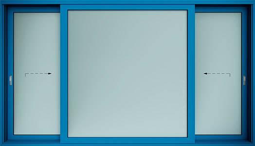 Алюмінієві терасні двері wisniowski. Схема K | RAL 5010