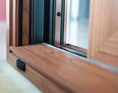 Алюмінієві терасні двері wisniowski. Низький поріг