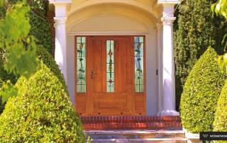 Алюмінієві зовнішні двері Plus Line wisniowski-1