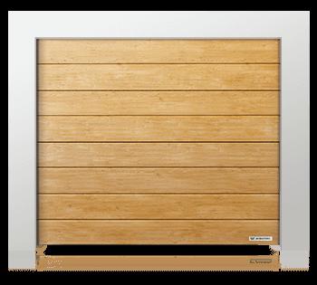 Секційні гаражні ворота Prime з панелей з високим гофром