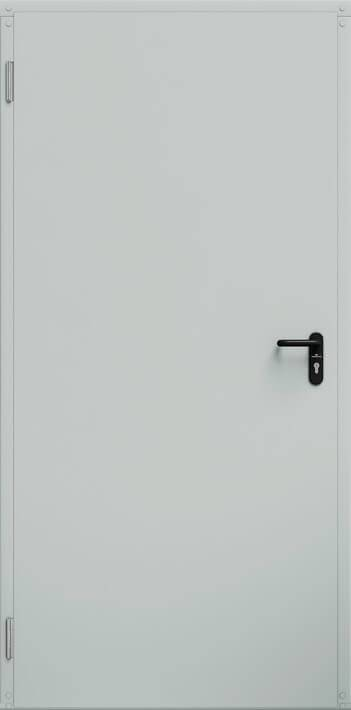 Промислові суцільні сталеві двері wisniowski ECO BASIC UNI   RAL 7035