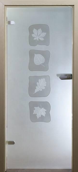 Повністю скляні двері wisniowski. Дизайн та орнаменти DC 001