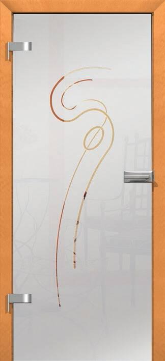 Повністю скляні двері wisniowski. Дизайн та орнаменти DC 002