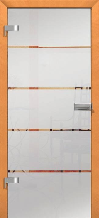 Повністю скляні двері wisniowski. Дизайн та орнаменти DC 004