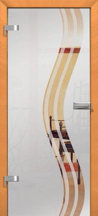Повністю скляні двері wisniowski. Дизайн та орнаменти DC 006