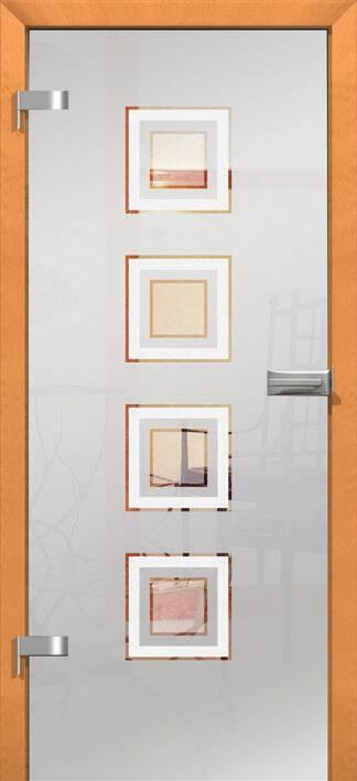 Повністю скляні двері wisniowski. Дизайн та орнаменти DC 007