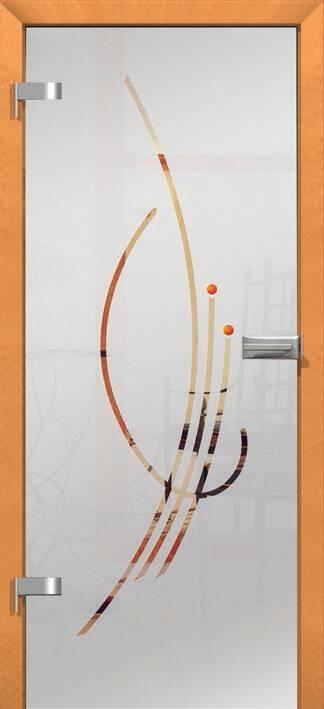 Повністю скляні двері wisniowski. Дизайн та орнаменти DC 009