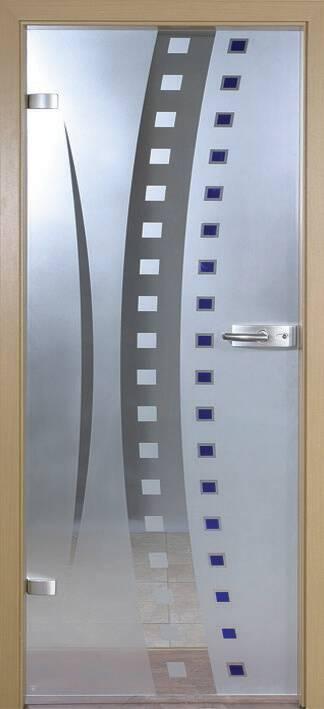 Повністю скляні двері wisniowski. Дизайн та орнаменти DC 010