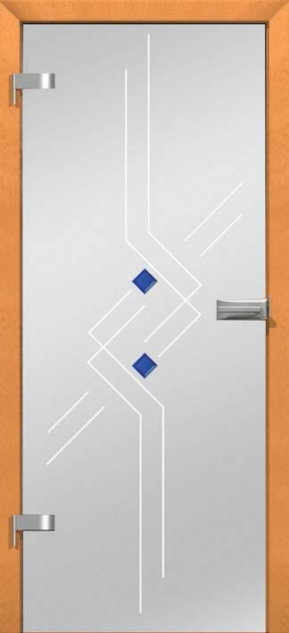 Повністю скляні двері wisniowski. Дизайн та орнаменти DC 012