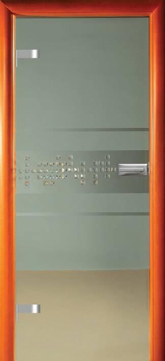 Повністю скляні двері wisniowski. Дизайн та орнаменти DC 013
