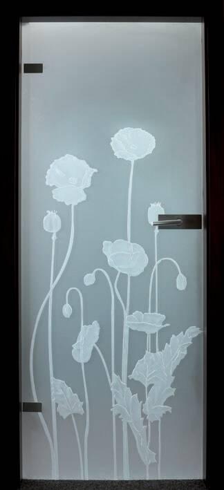 Повністю скляні двері wisniowski. Дизайн та орнаменти DC 016