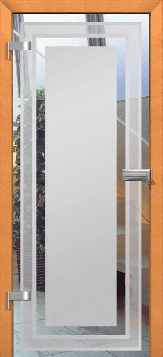 Повністю скляні двері wisniowski. Дизайн та орнаменти DC 023