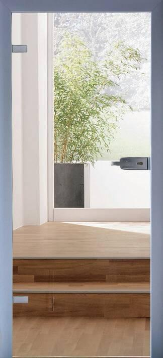 Повністю скляні двері wisniowski. Дизайн та орнаменти DC 025