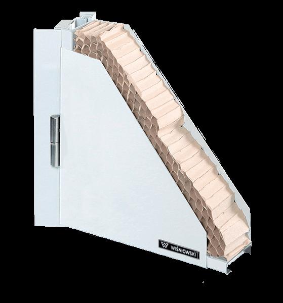 Суцільні сталеві внутрішні двері ECO BASIC wisniowski