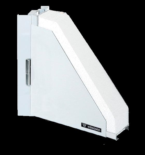 Суцільні сталеві зовнішні двері wisniowski ECO BASIC для промислових об'єктів