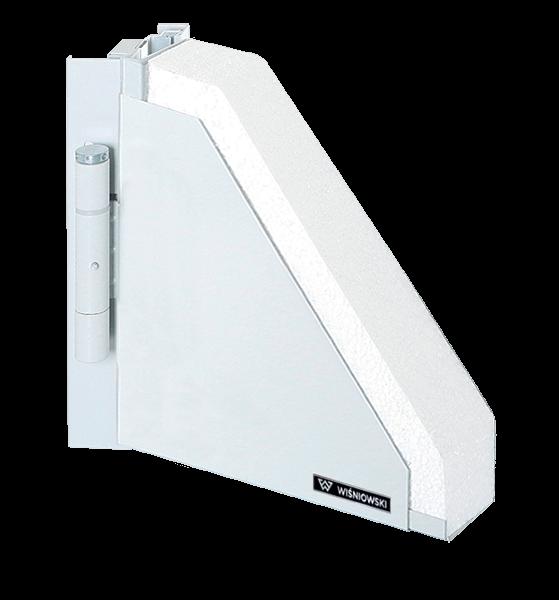 Суцільні сталеві зовнішні двері wisniowski ECO для промислових об'єктів
