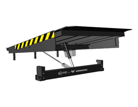 Електрогідравлічний доклевеллер з висувною (телескопічною) апарелью PowerRamp 233 NG для перевантажувальних систем