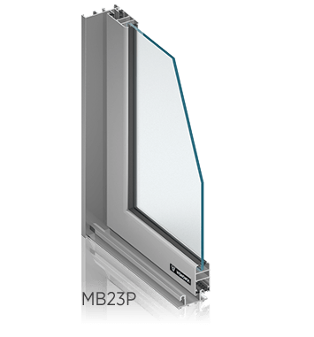 Алюмінієві внутрішні вікна ALUPROF MB23Р wisniowski для промислових об'єктів