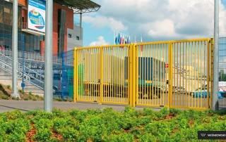 Промислові розпашні ворота та хвіртки wisniowski системи BASTION-6