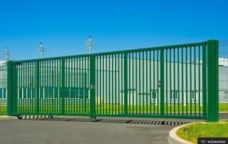 Промислові розпашні ворота та хвіртки wisniowski системи BASTION-9