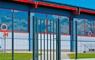 Промислові розпашні ворота та хвіртки wisniowski системи BASTION-12