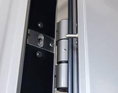 Алюмінієві протипожежні двері wisniowski - протизнімний штир