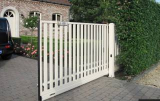 Відкатні ворота для огорожі wisniowski-12