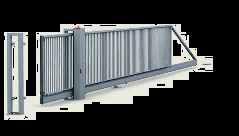 Відкатні ворота PI-200 з електроприводом-2