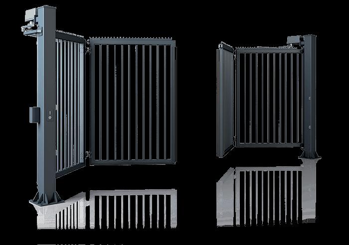 Складні ворота V-KING для промислових об'єктів