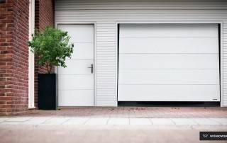 Підйомно-поворотні ворота для гаражу-1