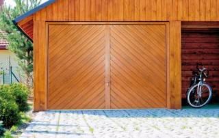 Підйомно-поворотні ворота для гаражу-5
