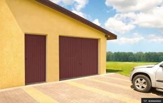 Підйомно-поворотні ворота для гаражу-9