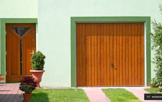 Підйомно-поворотні ворота для гаражу-11
