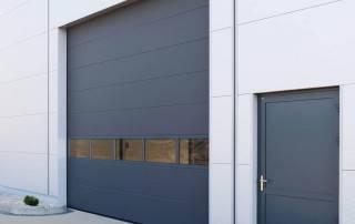 Секційні ворота wisniowski для промислових об'єктів-2