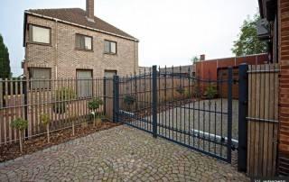 Розпашні ворота та хвіртки для огорожі wisniowski-4