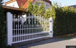 Розпашні ворота та хвіртки для огорожі wisniowski-6