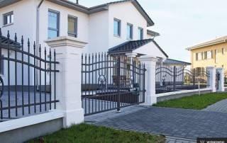 Розпашні ворота та хвіртки для огорожі wisniowski-8