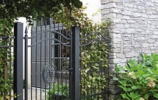 Розпашні ворота та хвіртки для огорожі wisniowski-10