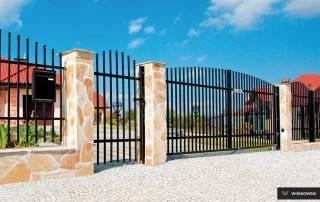 Розпашні ворота та хвіртки для огорожі wisniowski-14