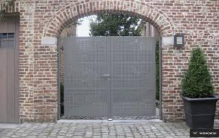 Розпашні ворота та хвіртки для огорожі wisniowski-16