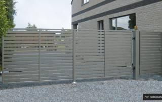Розпашні ворота та хвіртки для огорожі wisniowski-17