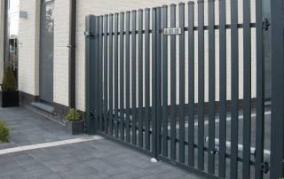Розпашні ворота та хвіртки для огорожі wisniowski-19