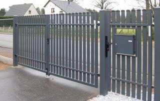 Розпашні ворота та хвіртки для огорожі wisniowski-20