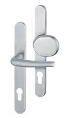Бокові алюмінієві панельні двері wisniowski. Ручка та ручка-кнопка Denver
