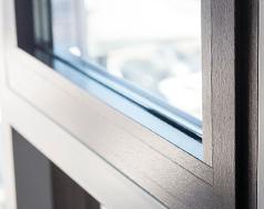 DESIGNO – приховані петлі для алюмінієвих вікон wisniowski