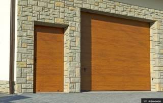 Бокові алюмінієві панельні двері wisniowski-4