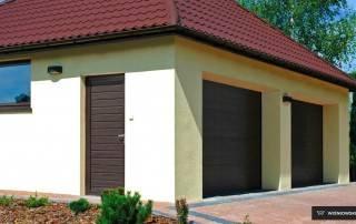 Бокові алюмінієві панельні двері wisniowski-5